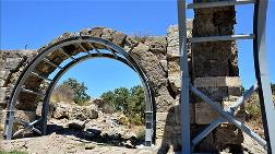 2 Bin Yıllık Hamama 'Çelik' Desteği