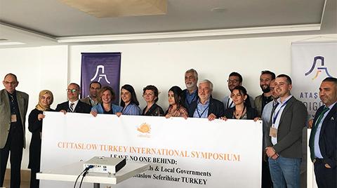 Seferihisar'da Cittaslow Türkiye Uluslararası Sempozyumu Gerçekleşti
