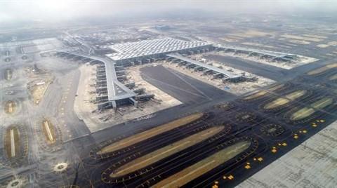 İstanbul Yeni Havalimanı Havadan Fotoğraflandı