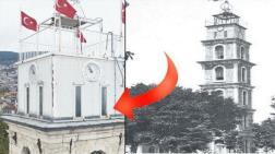 Tophane Saat Kulesi'ne PVC Kaplama