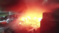 Esenyurt'ta Büyük Yangın