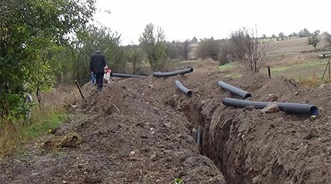 Kanalizasyon Kazısında Tarihi Sütunlar Bulundu