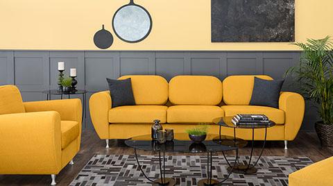 Sarı Renk ile Evlerde Yüksek Enerji