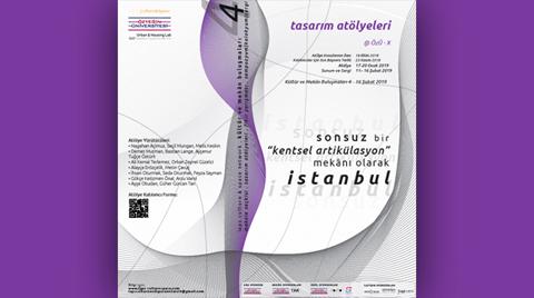 IAPS - Culture & Space Network: Kültür ve Mekan Buluşmaları 4 - Tasarım Atölyeleri