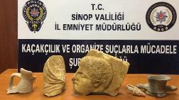 Sinop'ta 2400 Yıllık Tarihi Eserler Ele Geçirildi