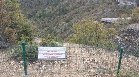 Ölüm Riskine Karşı 'Taş Teras' Telle Çevrildi