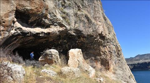 Adıyaman'da Doğu Roma Dönemine Ait Mağara Bulundu