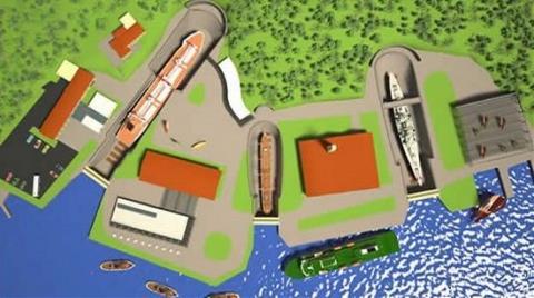 Haliçport'un Yeni İmar Planı Askıya Çıktı