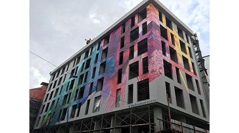 Mimari Proje Aşamasında Tasarlanan İlk Mural Çalışması