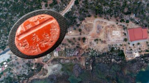 Kazı Çalışmalarında 1800 Yıllık Yüzük Taşı Bulundu