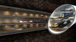 3 Katlı İstanbul Tüneli'nin İhale Çağrısı Aralıkta Yapılacak