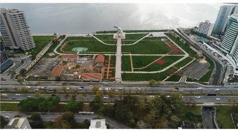 Ataköy Millet Bahçesi'nin Son Hali Görüntülendi