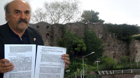 Üçüncüzade Ömer Paşa'nın Torunları Kale Arazisini İstiyor
