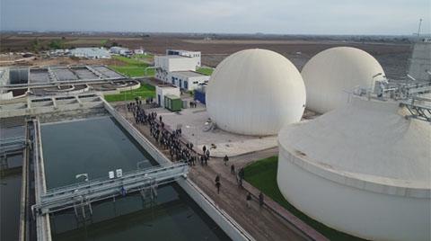 200 Haneye Elektrik Üretecek Tesis Açıldı