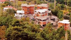 İmar Barışı Sonrası Heyelan Bölgesine Villa