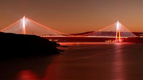 Yavuz Sultan Selim Köprüsü Kadına Yönelik Şiddete Karşı Aydınlanacak