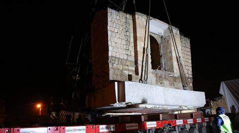 Hasankeyf'te Eyyubi Camisi'nin Taşınma Süreci Başladı
