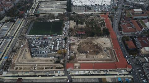 Rami Kışlası'ndaki Son Durum Havadan Görüntülendi