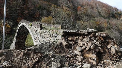 Zarar Gören Tarihi Kemer Köprü Ayağı Onarılacak