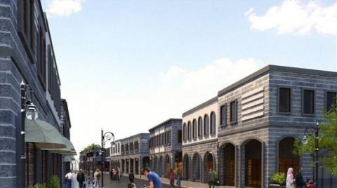 Diyarbakır Sur'un 6 Mahallesi Yeniden İnşa Ediliyor
