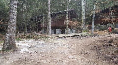 Gölcük Tabiat Parkı'nda Otel İnşaatına Başladılar