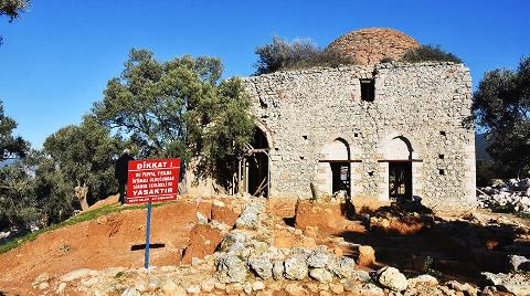 Antik Kentteki Yelli Camisi 500 Yıl Sonra İbadete Açılıyor