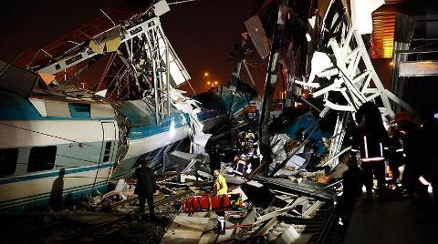 Ankara'da Hızlı Tren Kazası