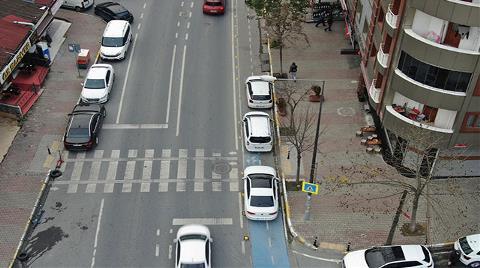 İstanbul'da Bisiklet Yolları İşgal Altında