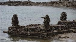 Barajdan Tarihi Yapı Çıktı