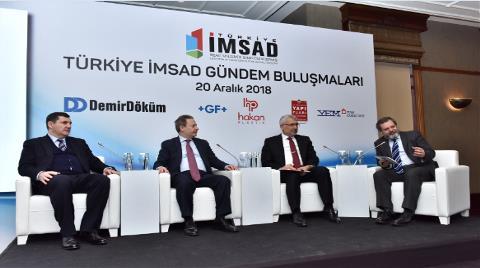 İMSAD Gündem Buluşmaları'nda 'Dış Ticarette Tehditler Ve Fırsatlar' Konuşuldu