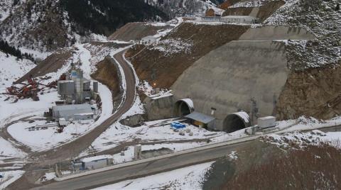 Eğribel Tüneli Projesi'nde Son 95 Metre