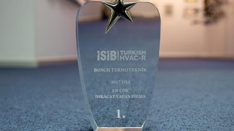 41 Ülkeye İhracat Yapan Bosch Termoteknik'e Ödül