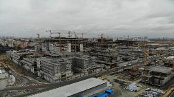 Başakşehir Şehir Hastanesi'nin Yüzde 35'i Bitti