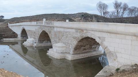 5 Asırlık Köprü Restore Edildi