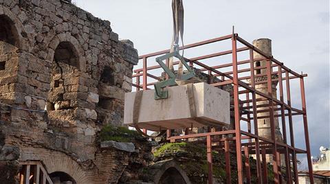 Kesik Minare'ye İlk Taş Konuldu