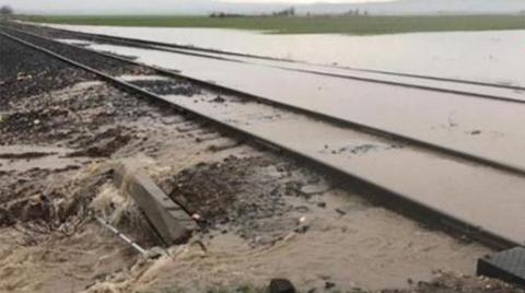 Aşırı Yağışlar, Demir Yolunda Dolguları Boşalttı