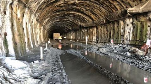 Zonguldak Mithatpaşa Tünelleri'nin İnşaatı Başladı