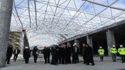 Isparta Şehirlerarası Terminal'in Kaba İnşaatı Bitti