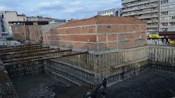 Samsun'da AVM İnşaatı Müzeyi Çatlattı