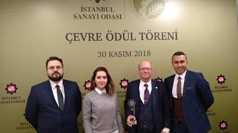 Yıldız Entegre'ye İstanbul Sanayi Odası'ndan Ödül