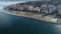 Rize'de Sosyal Alan İçin Deniz Dolduruluyor