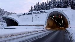 'Köpek Balığı Ağızlı' Tünelden 1 Milyon 25 Bin Araç Geçti