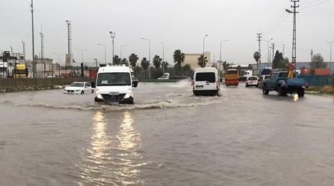 Mersin'de Şiddetli Yağışın Zararı 61 Milyon Lira