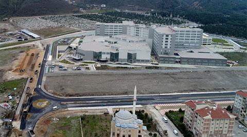 Manisa Şehir Hastanesi Yolunda Çalışmalar Sürüyor