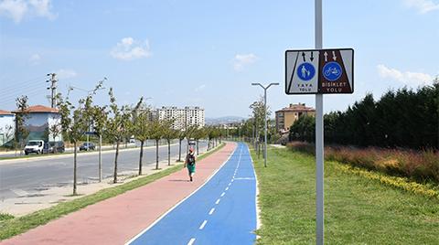 Pendik Belediyesi'nden Bisiklet Yolları Projesi