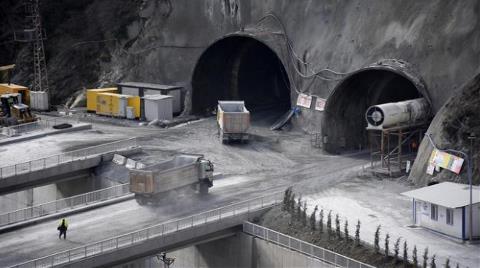 Yeni Zigana Tüneli'nin Son Hali Görüntülendi