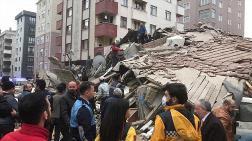MMO Başkanı'nın Kartal'da Çöken Binaya İlişkin Açıklaması