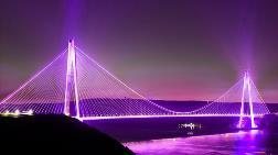 Yavuz Sultan Selim Köprüsü Mor Renge Bürünecek