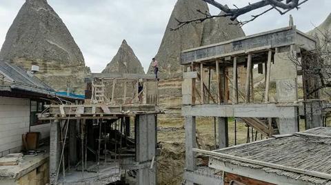 """""""Nevşehir'deki Doğa ve Tarih Katliamına Karşı Sessiz Kalmayacağız"""""""