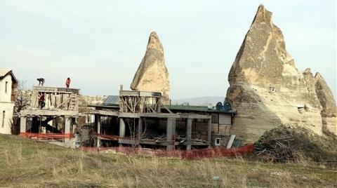 Peribacalarındaki Otel İnşaatı Bakanlık Kurullarından Onaylanmış